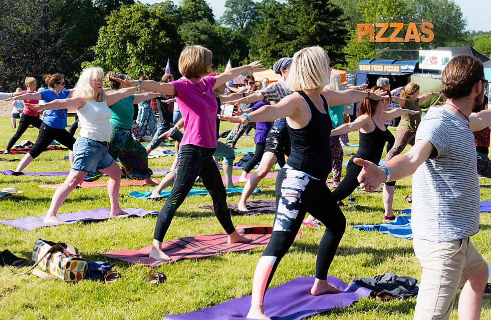 Orbit Festival yoga