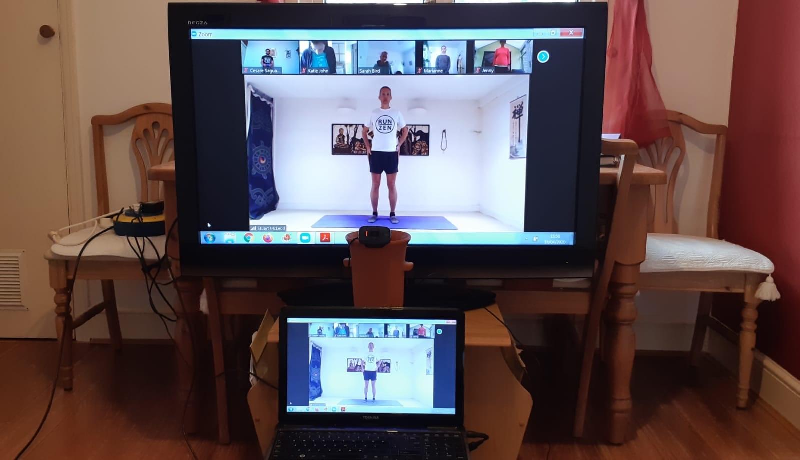Live online RUN:ZEN workshop
