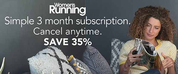 Womens Running magazine subscription offer