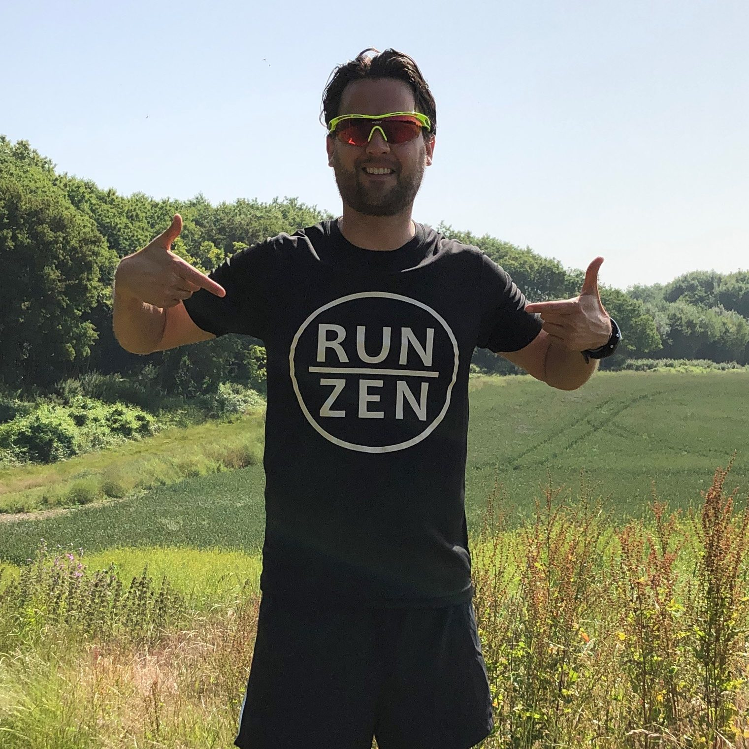 Mindful running teacher Cesare Saguato