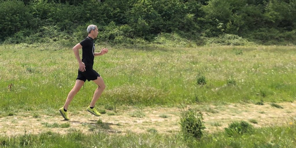 Stuart McLeod running
